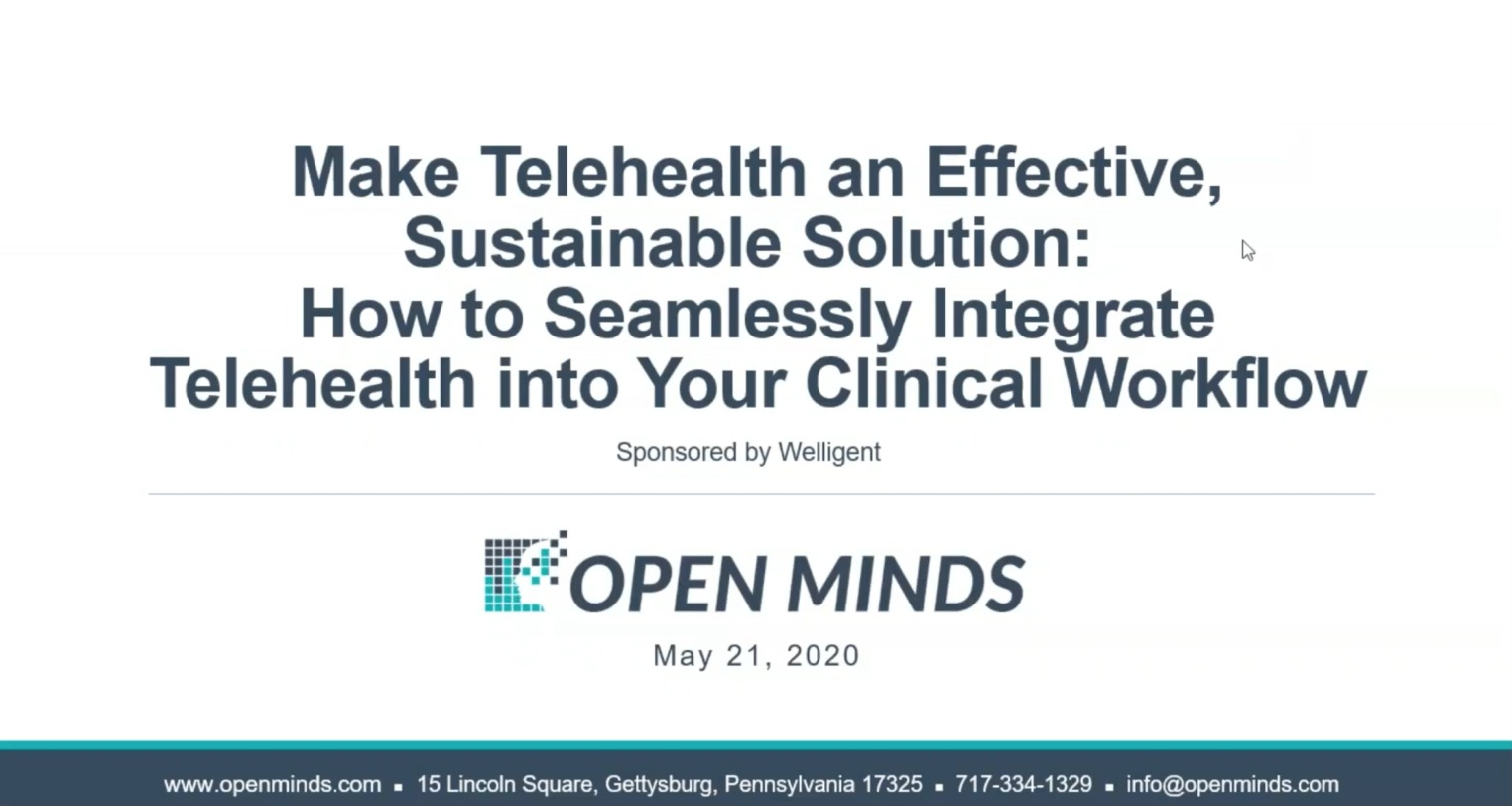 [Webinar] Seamlessly Integrate Telehealth Into Your Clinical Workflow